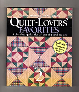 Better Homes & Gardens Quilt-Lovers' Favorites - Volume 2. First Edition, First Printing.