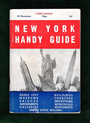 New York Handy Guide (Nester House, 1951): Vintage Tourist Handbook of New York City. Attractions...