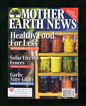 Mother Earth News - August - September, 2017. Paw Paw Mead Recipe; Fiery Ferments (with Peppers);...