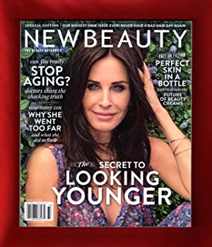 New Beauty (The Beauty Authority) Special Edition - Summer, 2017. Courteney Cox Cover. Beauty Sur...