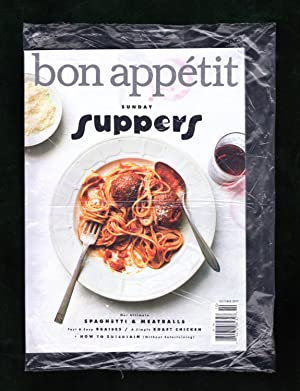 Bon Appétit - October, 2017. In Original Shipping Bag.