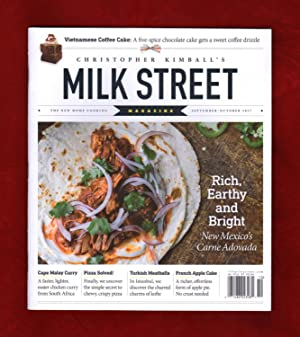 Christopher Kimball's Milk Street Magazine - September-October, 2017. Stir-Fried Broccoli w/ Sich...