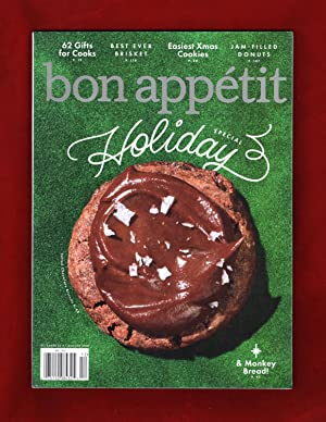 Bon Appétit - December 2017 - January 2018. Holiday Special Issue. 62 Gits for Cooks; Best-Ever B...