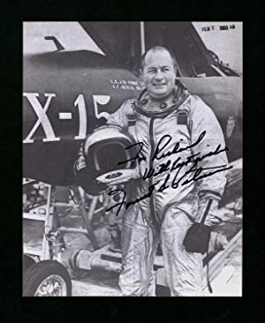Forrest Peterson (Astronaut, Test Pilot, US Navy Aviator) - Signed and Inscribed Photograph, 10