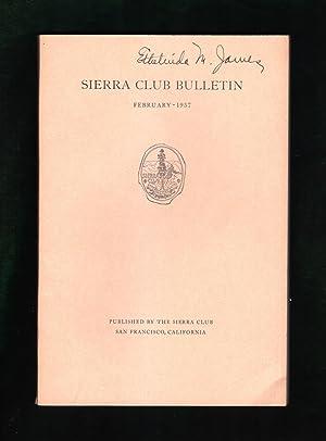 Sierra Club Bulletin - February, 1937. Ansel: Farquhar, Francis P.