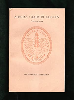 Sierra Club Bulletin - February, 1941. Cedric Wright 16-Photo King's Canyon National Park Set; 2 ...