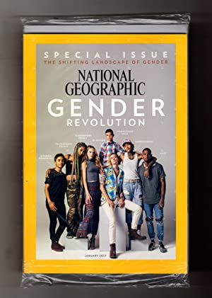 National Geographic Magazine - January, 2017. Newsstand Cover, in NGS Shipping Bag. Special Issue...