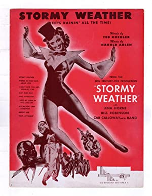 'Stormy Weather' Vintage Sheet Music, 1933. Ted Koehler (Words), Harold Arlen (Music). Mills Musi...