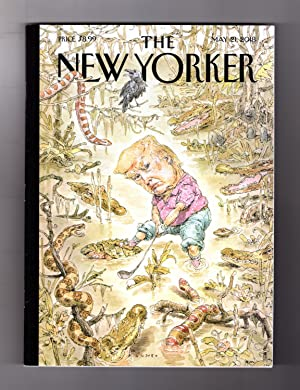 The New Yorker - May 21, 2018. Trump Swamp Cover. Weaponized Video Games; Victims' Rights - Harm ...