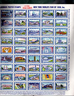 1939 New York World's Fair / Poster Stamps: Staff, The Nicklin Company