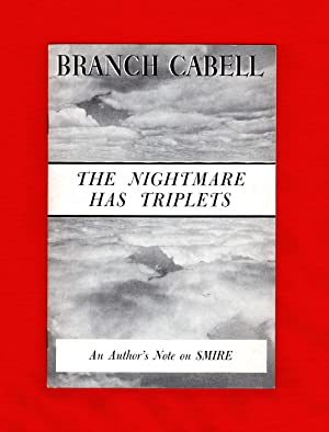 The Nightmare Has Triplets [An Author's Note: Cabell, James Branch