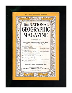 National Geographic Magazine - December, 1944. With: Gilbert Grosvenor (Editor)