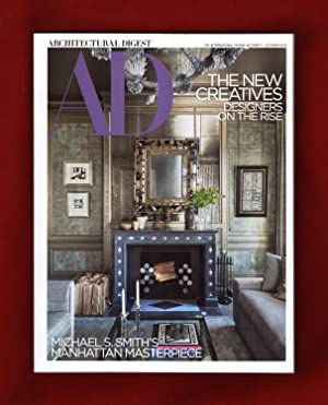 Architectural Digest - October, 2018. The New Creatives - Designers on the Rise. Michael S. Smith...
