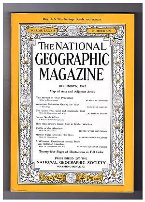 National Geographic Magazine - December, 1942. Includes: Gilbert Grosvenor (Editor)