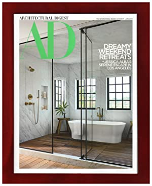 Architectural Digest - June, 2019. Dreamy Weekend Retreats. Jessica Alba's L.A. Serene Retreat; M...