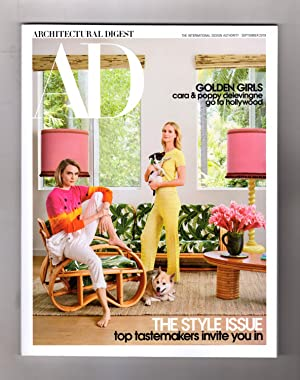 Architectural Digest - September, 2019. 'The Style Issue'. Cara & Poppy Delevigne Cover. Jacques ...
