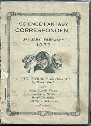 Science-Fantasy Correspondent / January-February 1937. H.P. Lovecraft,: Conover, Willis Jr.