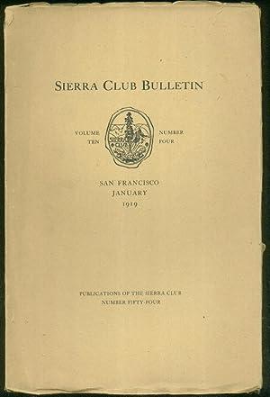 Sierra Club Bulletin - January 1919. John: William F. Bade