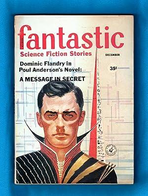 Fantastic Science Fiction Stories - December, 1959: Goldsmith, Cele (ed.); Anderson, Poul