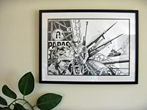 Mike Hinge - Original Science Fiction Art: Hinge, Mike