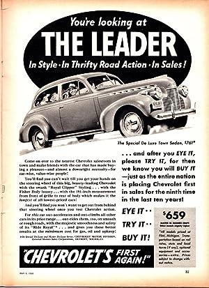 Liberty Magazine / May 4, 1940 / Volume 17, No. 18 / Rosalie Rush classic good girl ...