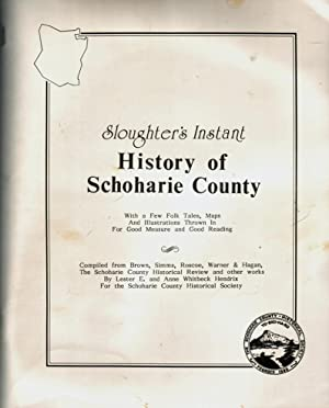 Sloughter's Instant History of Schoharie County