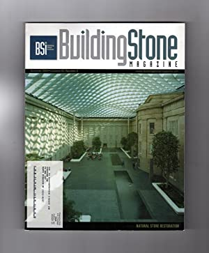 Building Stone Magazine / Volume 32, Number 2 / Summer 2009