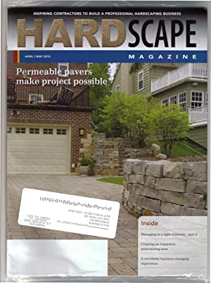 Hardscape Magazine / April/May 2012. Permeable pavers, feature. Also,