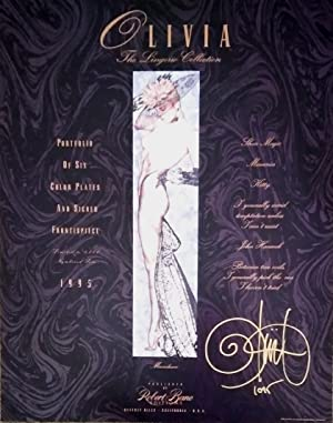 Olivia: The Lingerie Collection / signed and numbered portfolio and frontispiece / Robert...