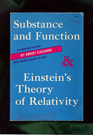 Substance and Function and Einstein's Theory of Relativity