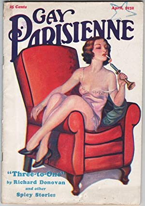 Gay Parisienne - April, 1932 Vintage Pulp: Young, Frank Kenneth;