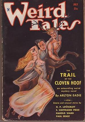 Weird Tales / July, 1934 / Margaret: Eadie, Arlton; Ward,