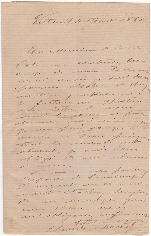 nature, Signé: Manuscrits & Papiers anciens - AbeBooks