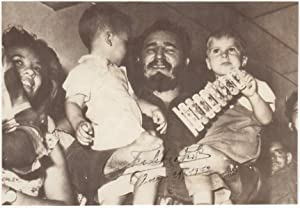 Signed photograph (just three weeks after the: Castro, Fidel (1926-2016)