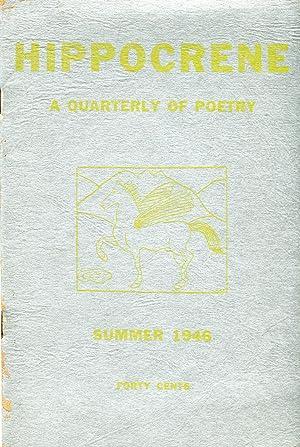 Hippocrene: A Quarterly of Poetry (Summer 1946): Nettleton, Mary Glover