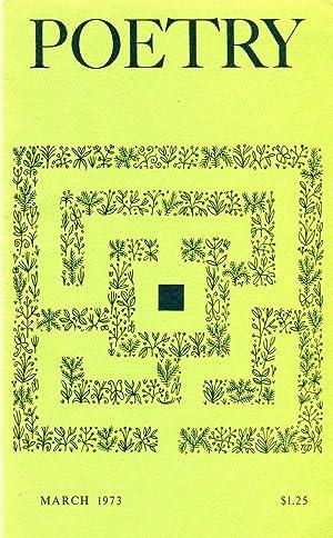 Poetry #121.6 (February 1973): Hine, Daryl (ed.);