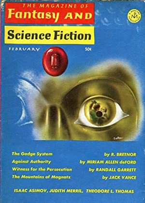 The Magazine of Fantasy and Science Fiction: Davidson, Avram (ed.);