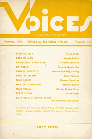 Voices #110 (Summer 1942)