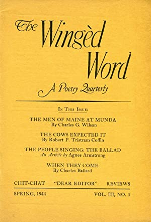 The Winged Word: A Quarterly Devoted to the Poetic Arts #3.3 (Spring 1944)
