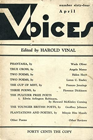 Voices #64 (April 1931)