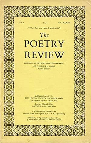 The Poetry Review #36 (1945)