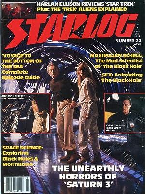 Starlog #33 (April 1980): Zimmerman, Howard (ed.);
