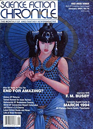 Science Fiction Chronicle: The Monthly SF and Fantasy Newsmagazine #169 (#15.3) (January 1994)