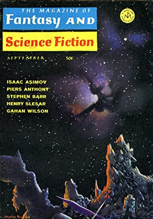 The Magazine of Fantasy and Science Fiction #208 (#35.3) (September 1968)
