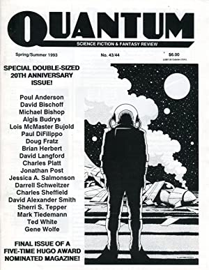 Quantum: Science Fiction & Fantasy Review #43/44 (Spring-Summer 1993) [formerly Thrust]