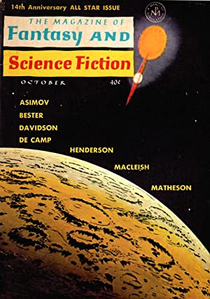 The Magazine of Fantasy and Science Fiction #149 (#25.4) (October 1963)