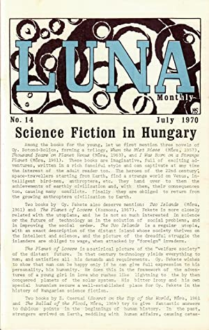 Luna Monthly #14 (July 1970)