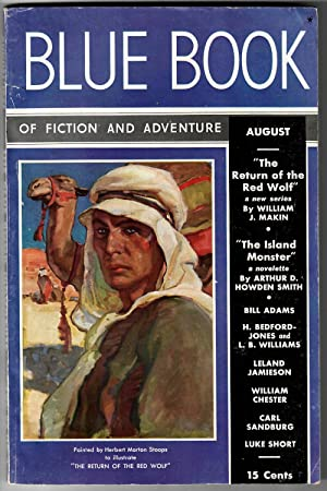 Blue Book #65.4 (August 1937) [The Blue Book Magazine of Fiction and Adventure]