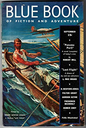 Blue Book #67.5 (September 1938) [The Blue Book Magazine of Fiction and Adventure]