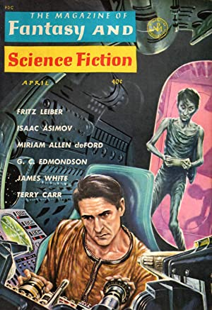 The Magazine of Fantasy and Science Fiction #143 (#24.4) (April 1963)